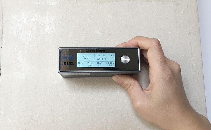 光泽度仪测量花岗岩光泽度