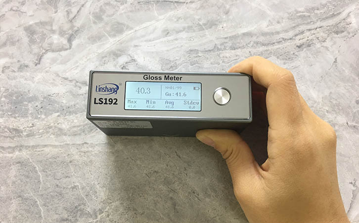 光泽度仪测量釉面光泽