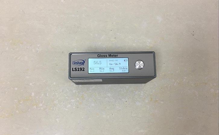 光泽度仪数据统计界面