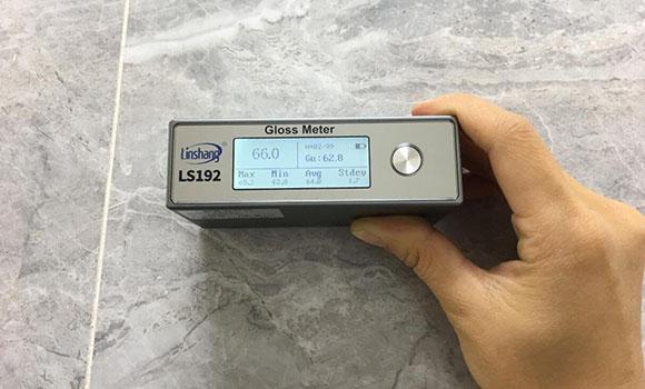 光泽度仪测量大理石