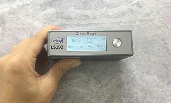 光泽度仪LS192测量石材