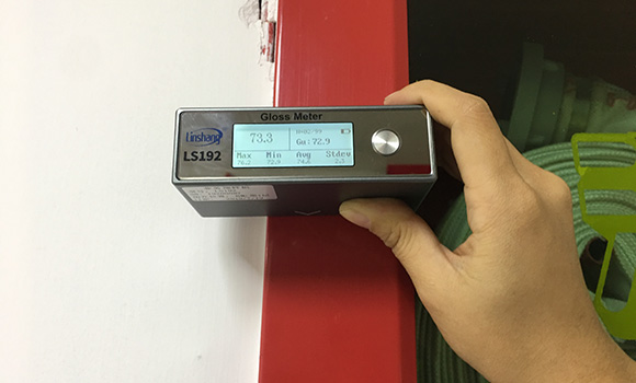 LS192光泽度仪测量油漆光泽度
