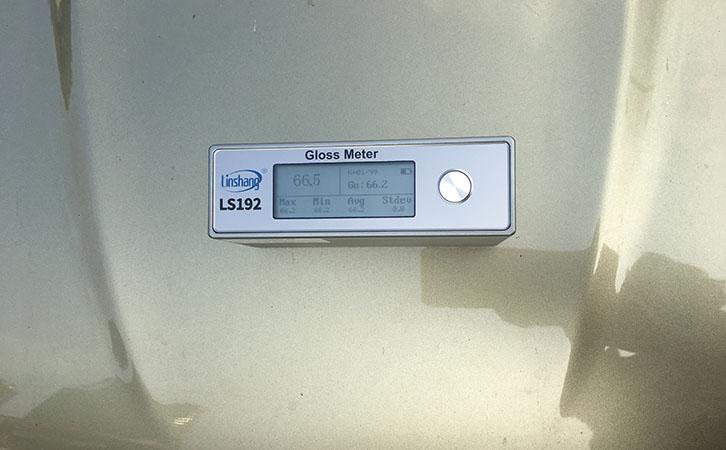 LS192光泽度仪测量漆膜