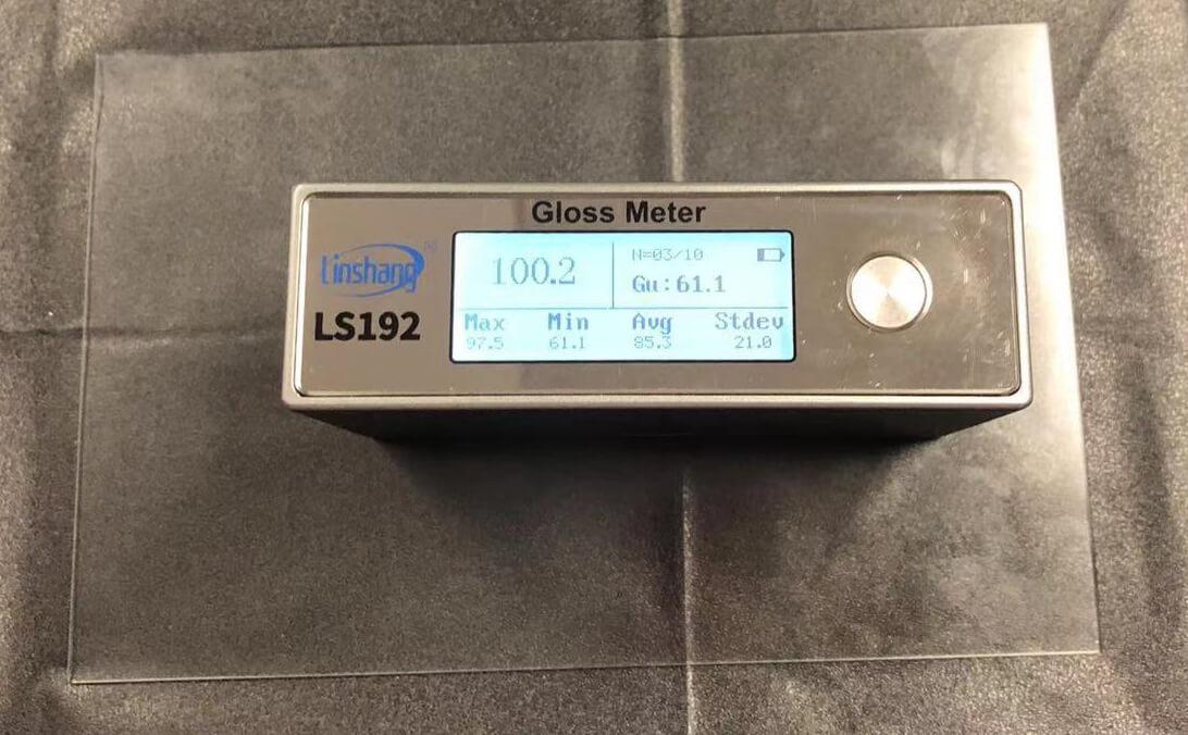 光泽度仪测量AG玻璃光泽度