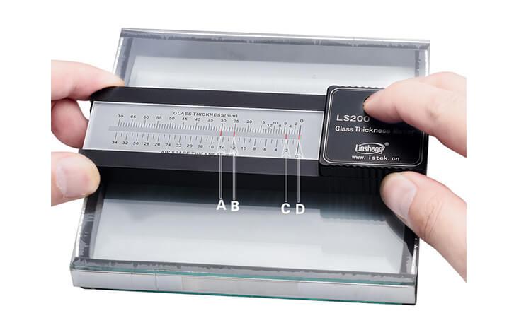 LS200玻璃厚度仪