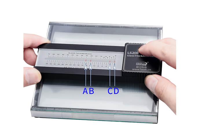便携式玻璃厚度仪