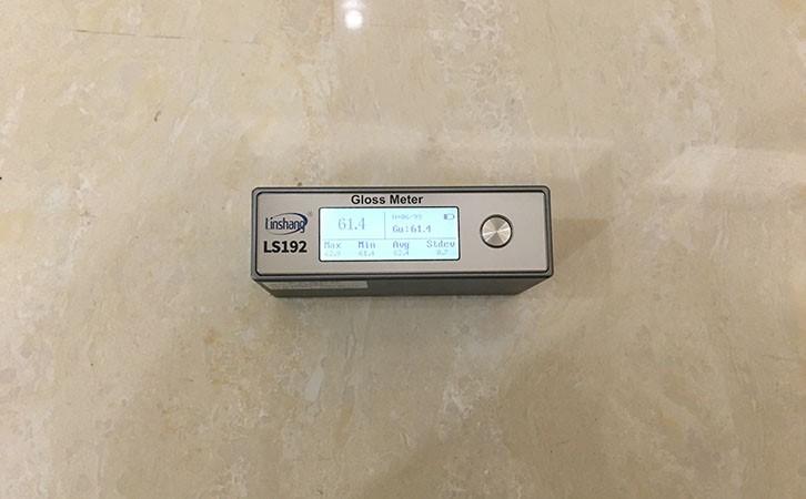 光泽度仪测量石材