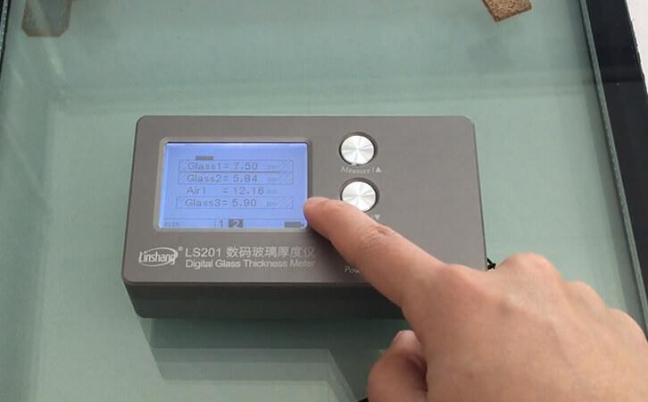 夹胶玻璃厚度仪测量中空玻璃