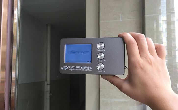 幕墙玻璃厚度检测仪