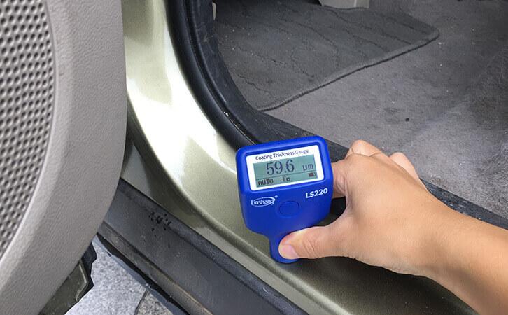 二手车漆膜检测仪LS220测试汽车