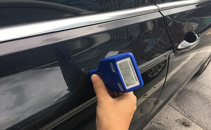 漆膜仪LS220B测试汽车漆面