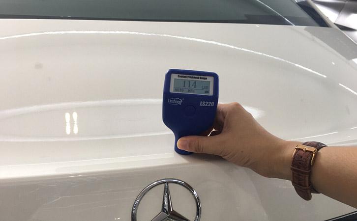 漆膜仪测量车漆涂层厚度