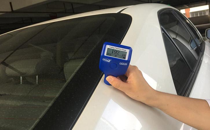 漆膜仪LS220测量汽车