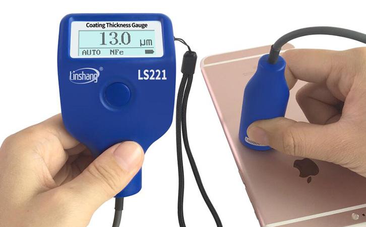 LS221测量手机涂层厚度
