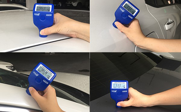 LS220B测量汽车