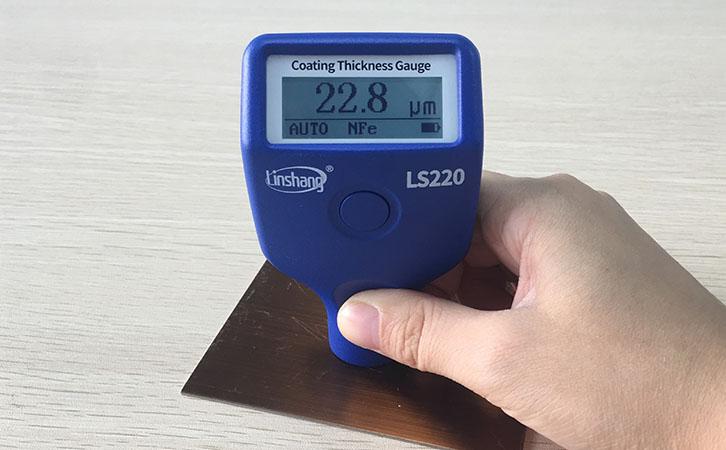 涂层测厚仪测量电镀层