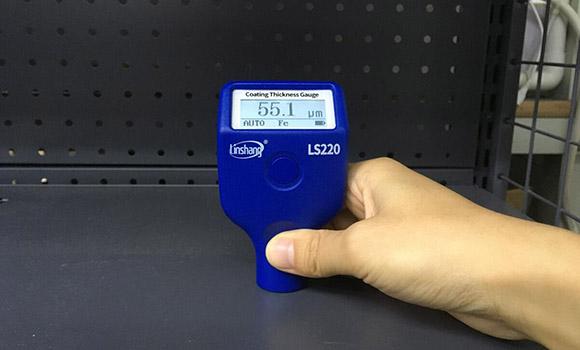 林上LS220H涂层测厚仪的使用方法