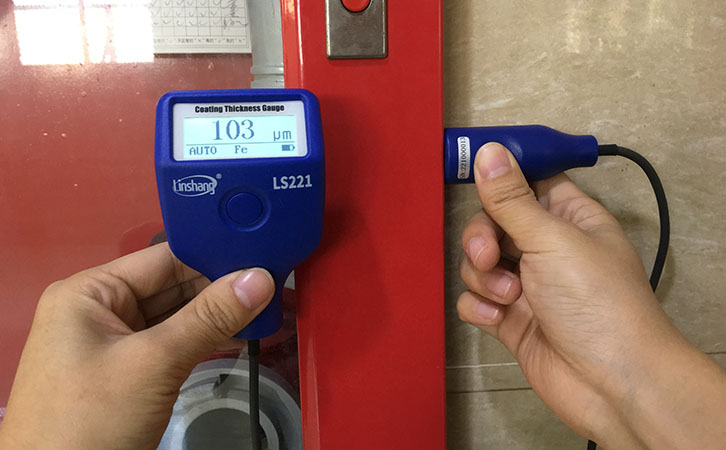 涂层测厚仪测量涂层厚度