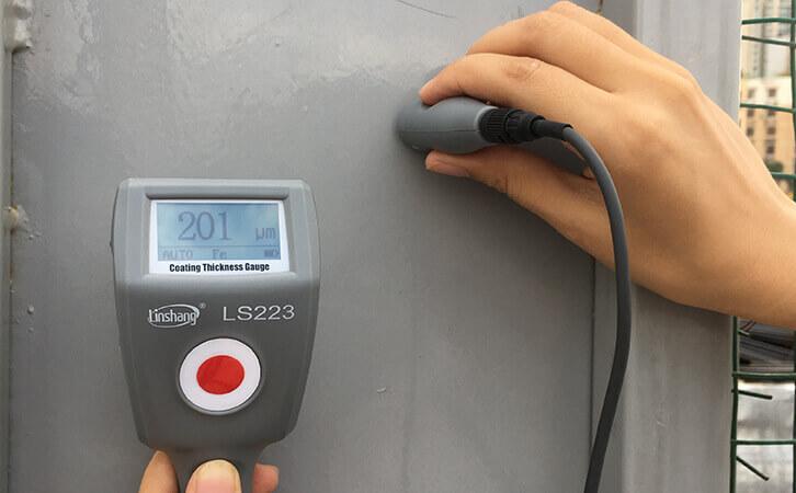 防腐涂层测厚仪检测钢结构涂层