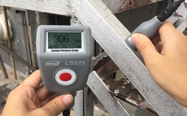 大量程便携式油漆漆膜厚度检测仪