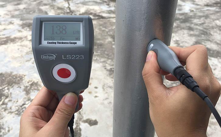 防腐涂层测厚仪测量防腐涂层厚度