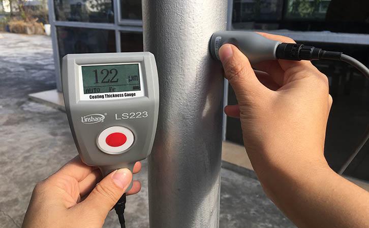 防腐涂层测厚仪测量防腐涂层