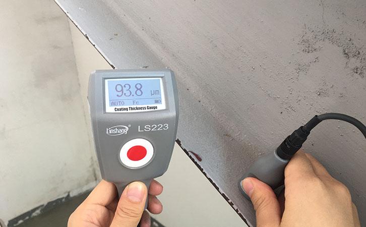 防火涂料测厚仪LS223测防火涂层