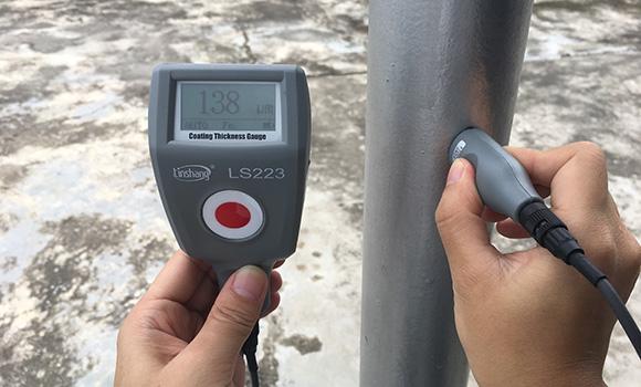 LS223漆膜测厚仪测量防腐涂层