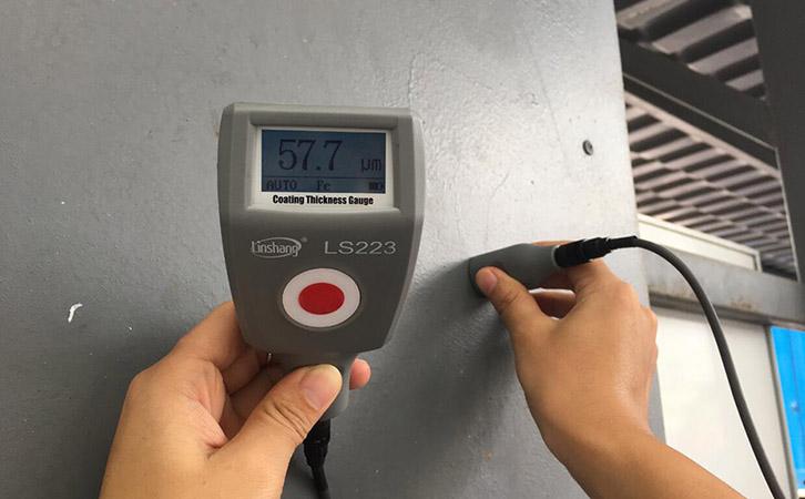 LS223漆膜厚度检测仪测量防腐涂层