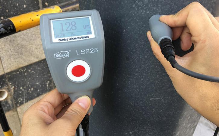 油漆涂层测厚仪LS223测量防腐油漆