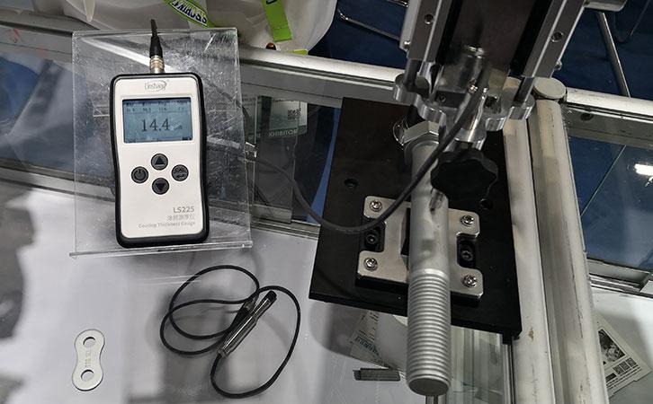 LS225测量螺丝表面镀层